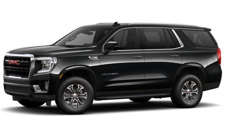 2021 GMC Yukon SLE trim