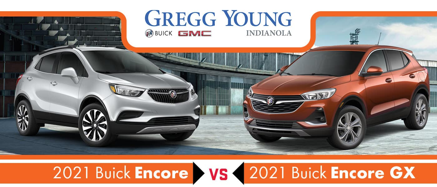 2021 Buick Encore vs. Encore GX: What's the Difference?