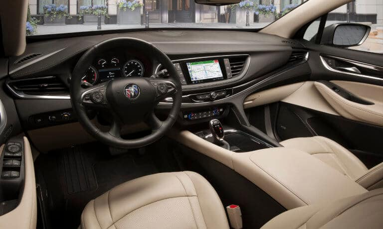 2021 Buick Enclave interior front