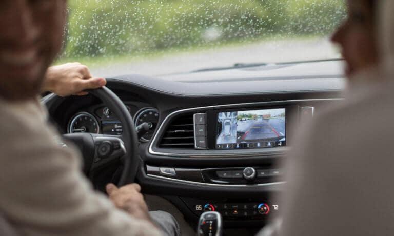 2021 Buick Enclave interior safety rear camera
