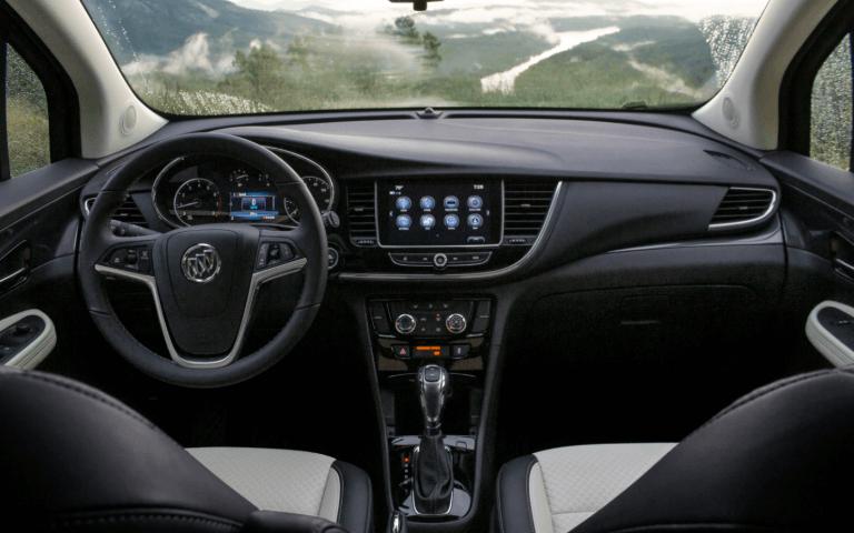 2021 Buick Encore interior front