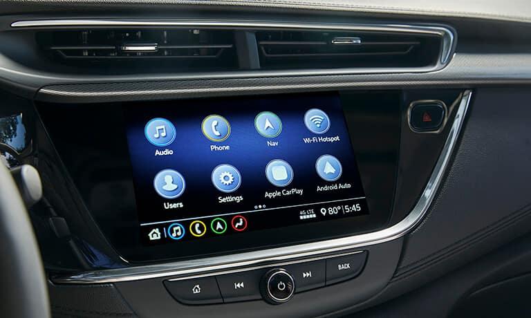 2021 Buick Encore GX interior infotainment