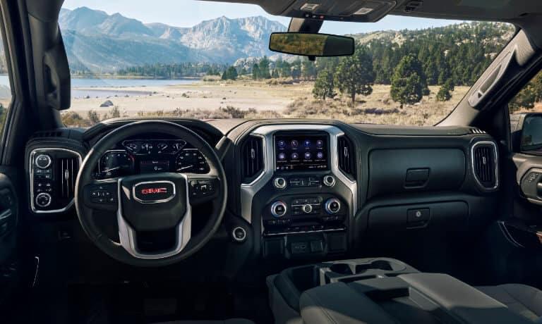 2021 Sierra 1500 interior dashboard