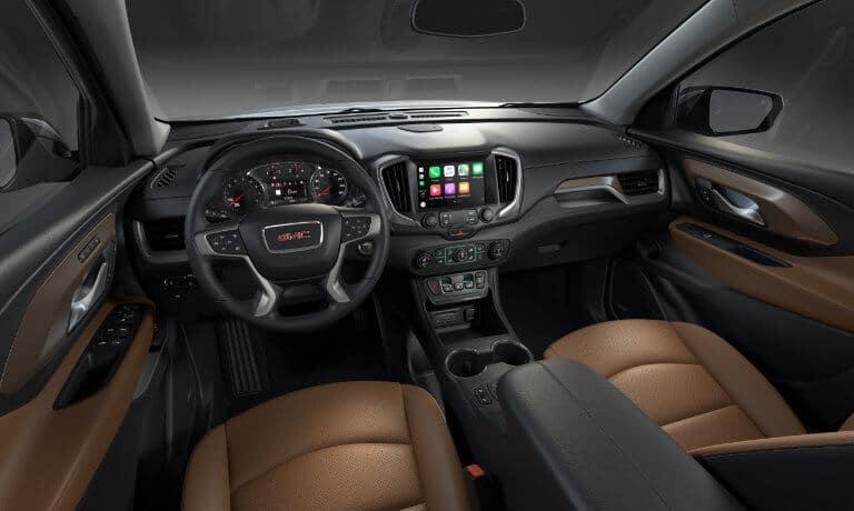 2021 GMC Terrain interior dashboard view