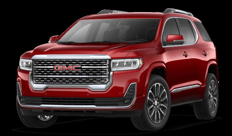 Incoming 2021 GMC Acadia Vehicles