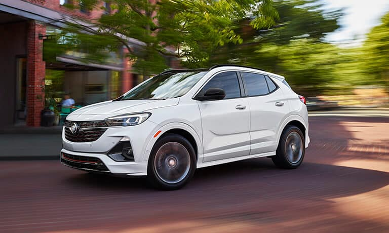 2021 Buick ENvore GX side exterior driving