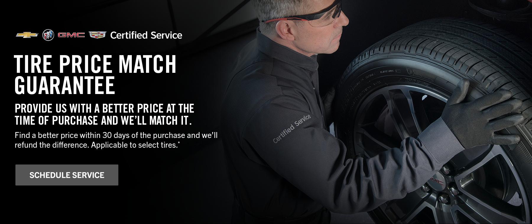 Tire Price Match Event