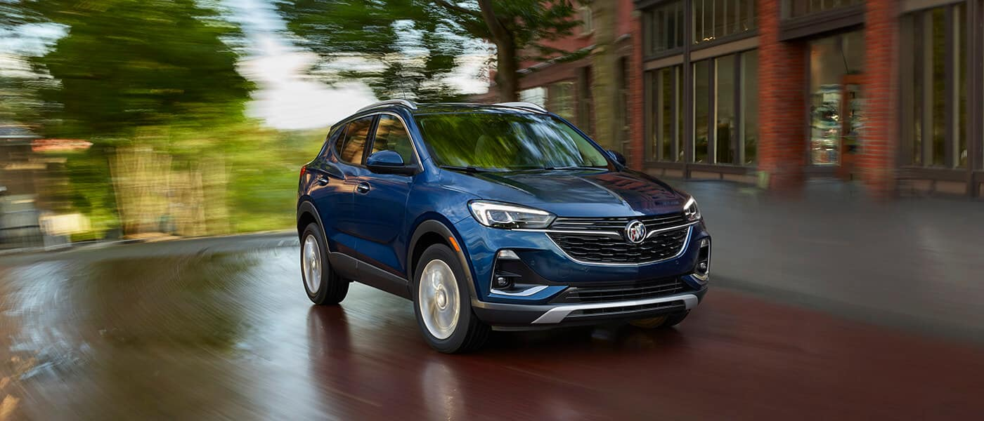 New Buick Encore GX driving exterior view