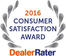 DealerRater Award