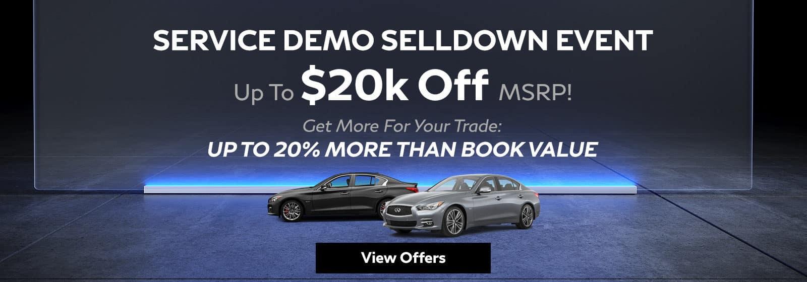 Service Demo Selldown Event