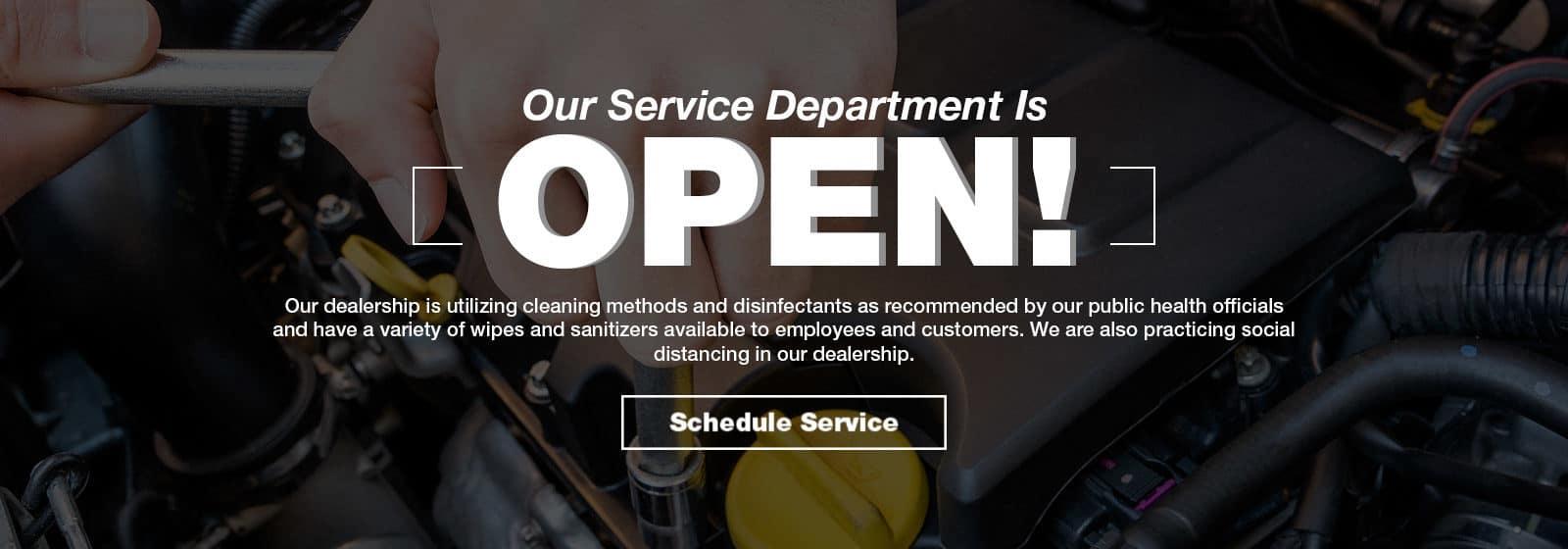 Service is open