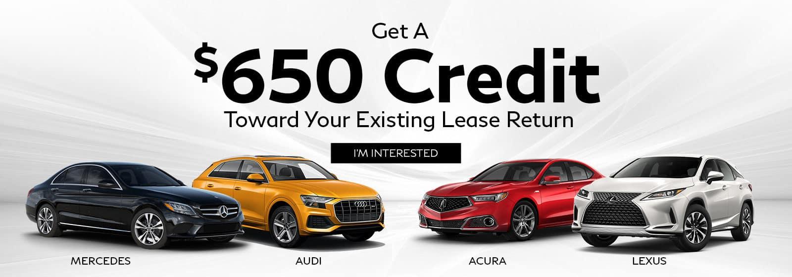 Lease Return Credit