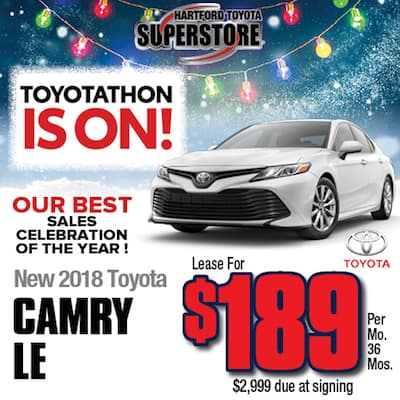 Lease Special New 2018 Camry LE