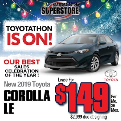 Lease Special New 2019 Corolla LE