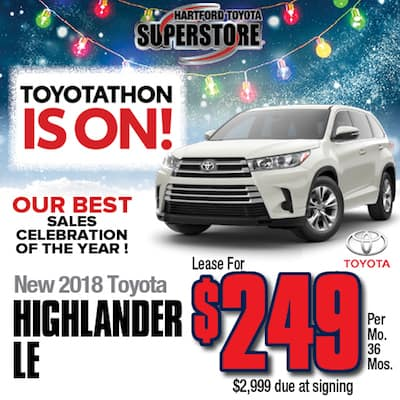 Lease Special New 2018 Highlander LE