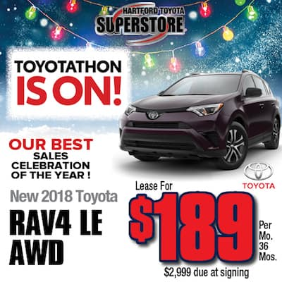 Lease Special New 2018 RAV4 LE AWD
