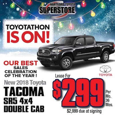 Lease Special New 2018 Tacoma SR5 4x4 Double Cab