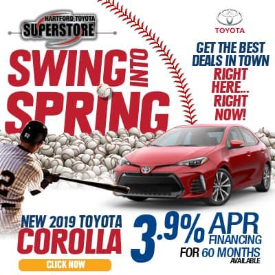 Swing Into Spring 2019 Toyota Corolla