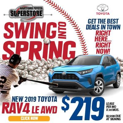 Swing Into Spring 2019 Toyota RAV4 LE AWD