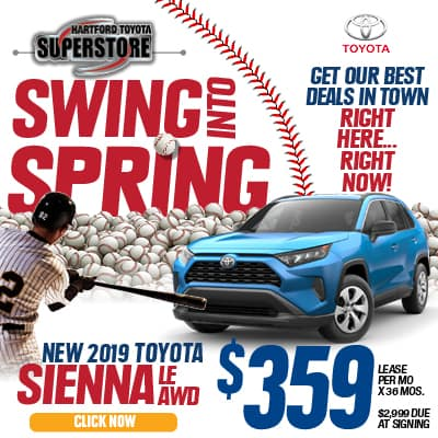 Lease Special New 2019 Toyota Sienna LE AWD