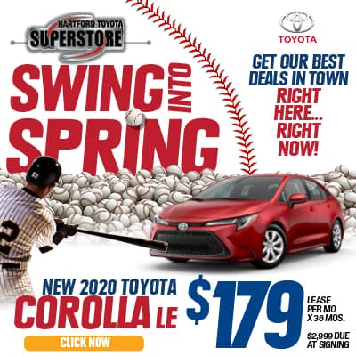 Lease Special New 2020 Toyota Corolla LE