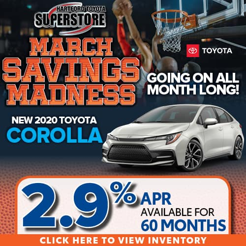 2.9% APR for 60 months available