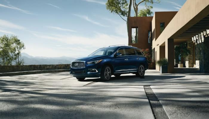 The sleek exterior of the 2019 INFINITI QX60