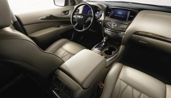 The spacious interior of the 2019 INFINITI QX60