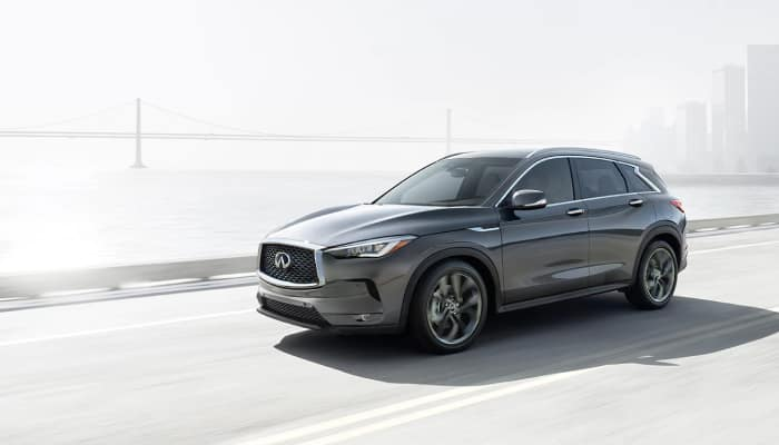 The 2019 INFINITI QX50 available at Herrin-Gear INFINITI