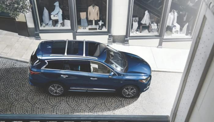 Stay safe inside the 2019 INFINITI QX60