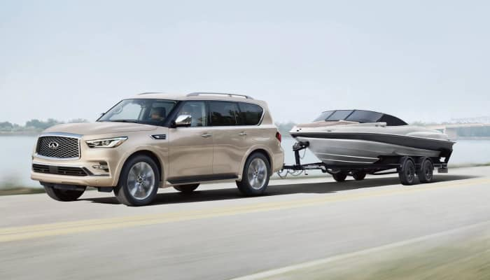Stay safe inside the 2019 INFINITI QX80