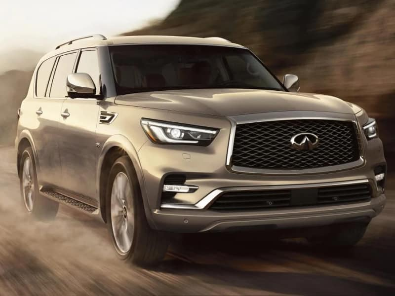 The high-performance 2019 INFINITI QX80