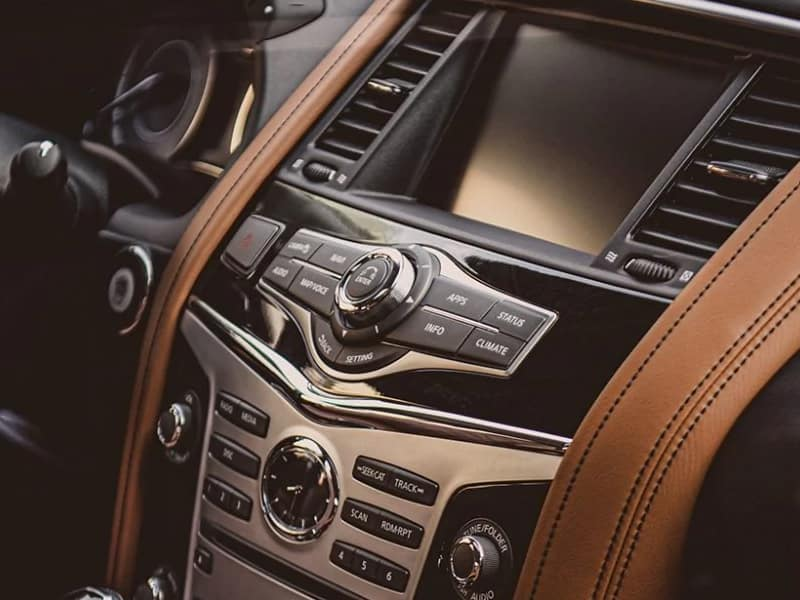 The 2019 INFINITI QX80 comes equipped with the latest technology features