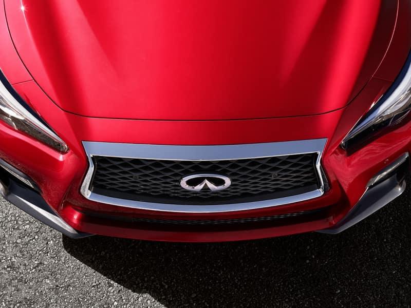 The sleek exterior of the 2019 INFINITI Q50