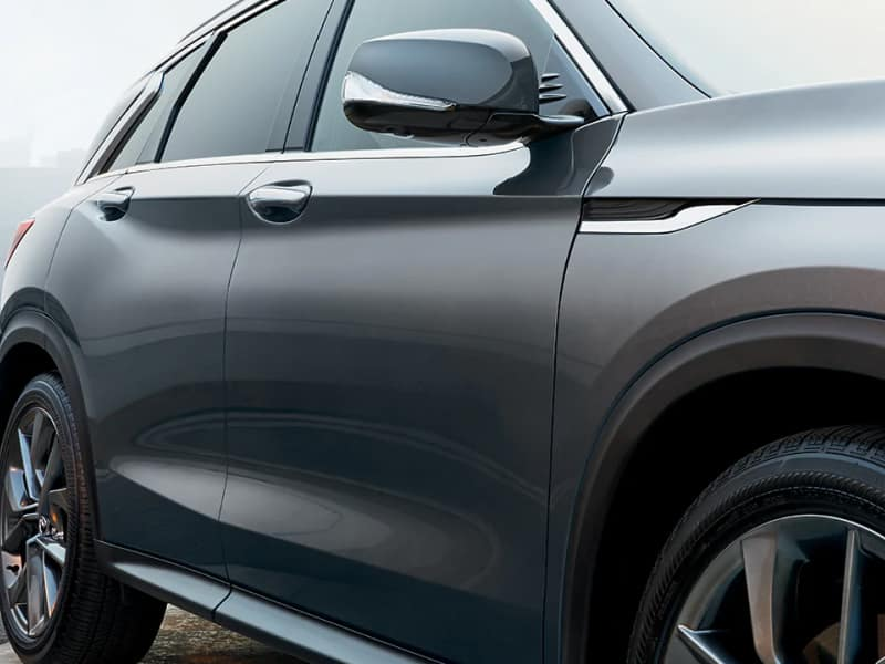 The sleek exterior of the 2019 INFINITI QX50