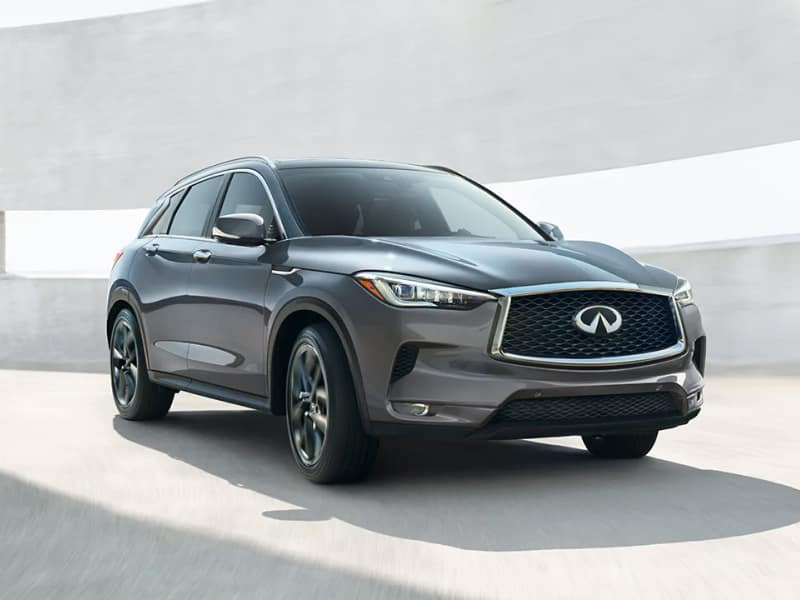 The 2019 INFINITI QX50 available at Herrin-Gear INFINITI in Jackson, MS