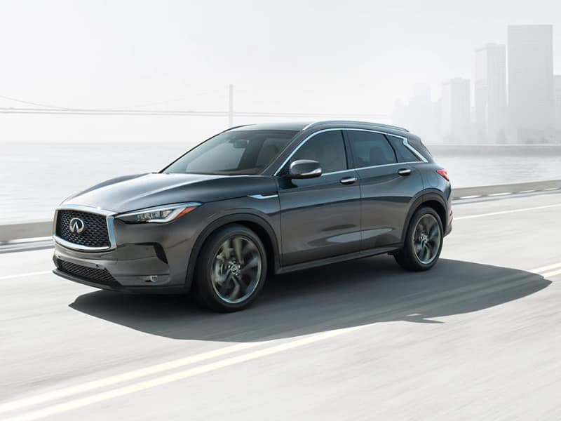 The high-performance 2019 INFINITI QX50