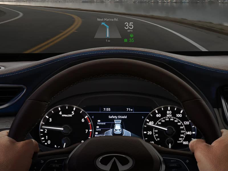 The 2019 INFINITI QX50 comes loaded with the latest technology features