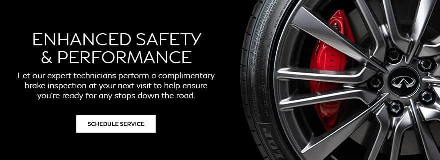 Complimentary brake inspection