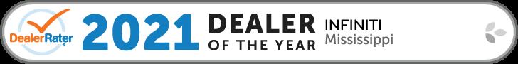 2021 INFINITI Mississippi Dealer of the year - DealerRater