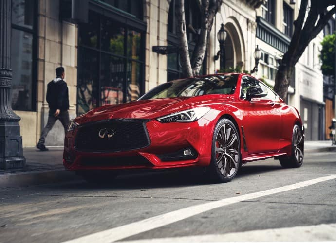 Promo image for the 2021 Q60