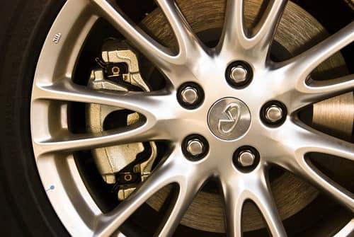 Image of INFINITI wheel and tire