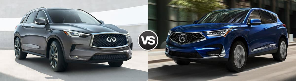 Compare 2019 Infiniti Qx50 Vs 2019 Acura Rdx Maple Shade Nj