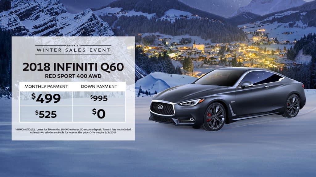 New 2018 INFINITI Q60 RED SPORT 400 AWD AWD