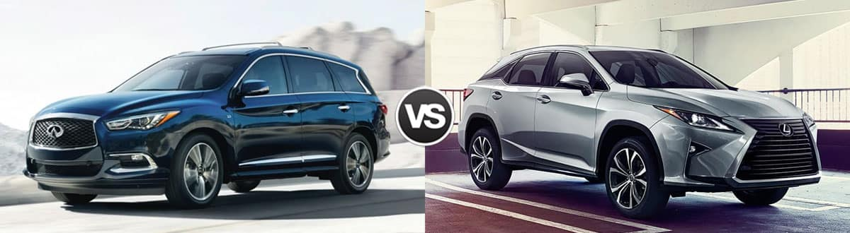 Compare 2019 INFINITI QX60 vs 2019 Lexus RX 350 | Maple ...
