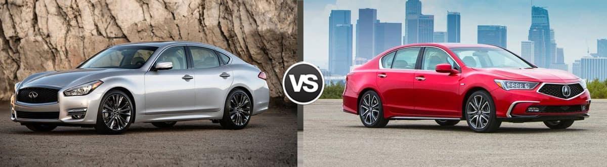 2019 INFINITI Q70 vs 2019 Acura RLX