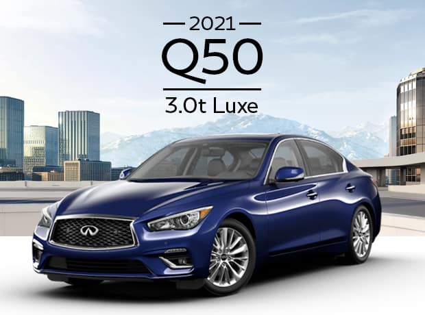 New 2021 INFINITI Q50 LUXE
