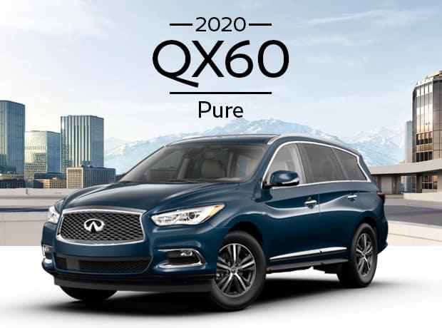 New 2020 INFINITI QX60 PURE