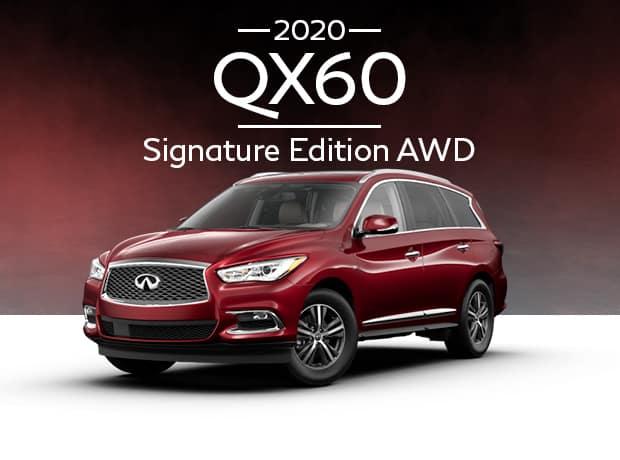 New 2020 INFINITI QX60