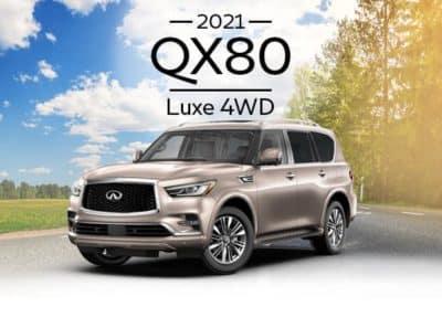 New 2021 INFINITI QX80